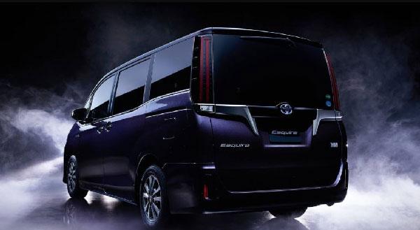 Toyota Esquire กับรูปแบบใหม่ที่ดูหรูหราน่าสัมผัสมากยิ่งขึ้น