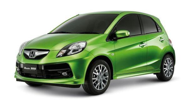 Honda Brio สีเขียวที่เหมาะกับคนธาตุไม้