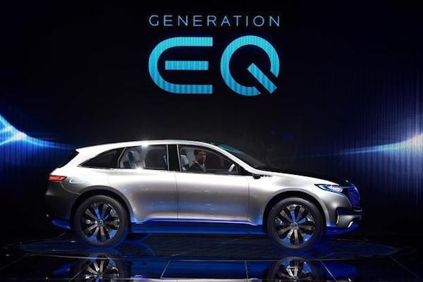 Mercedes-Benz Concept EQ  Mercedes-Benz Concept EQ