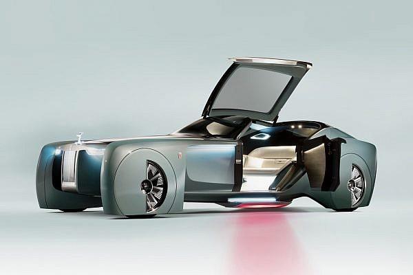 Rolls Royce Vision Next 100 Concept