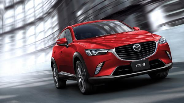 Mazda CX-3 เพิ่งได้เปิดตัวไมเนอร์เชนจ์ไปเมื่อปีที่แล้ว