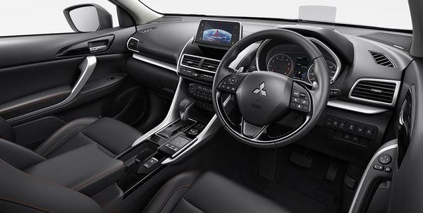 ภายในของ Mitsubishi Eclipse Cross ที่หรูหราโดนใจลูกค้าตลาดโลก