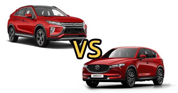 เปรียบเทียบรถยนต์ Mitsubishi Eclipse Cross และ Mazda CX-5