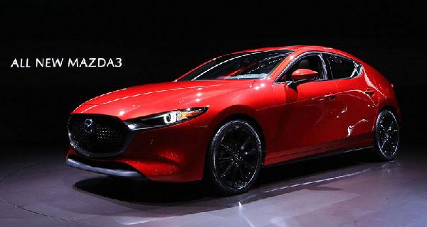 All new Mazda 3 ปี 2019