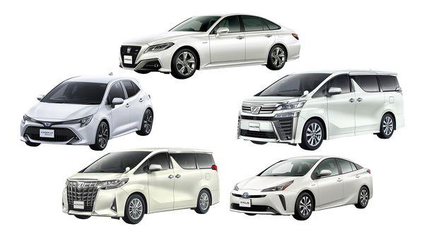 รถยนต์ที่สามารถเลือกเช่าได้จากแพ็คเก็จ Kinto One