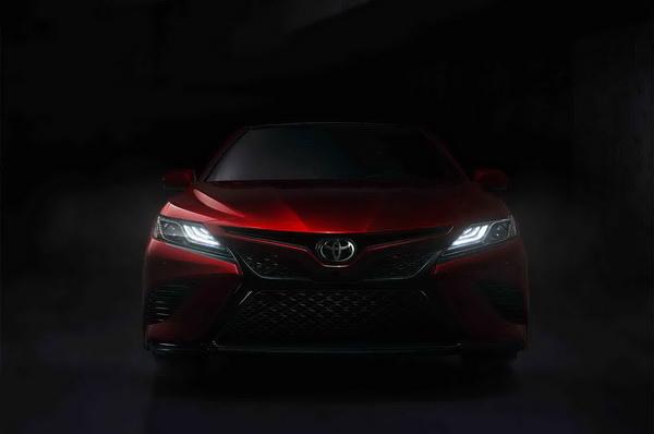 All New Toyota Camry 2019 เป็นเจนเนอเรชั่นที่ 8 มาพร้อมกับกระจังหน้าแบบใหม่