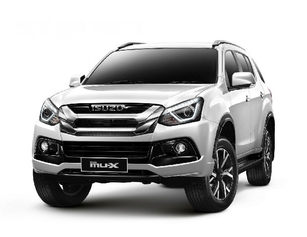 New ISUZU MU-X THE ONYX