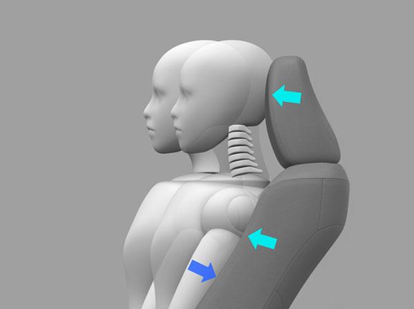 ภาพจำลองเบาะคู่นั่งคู่หน้าแบบ Wil Concept