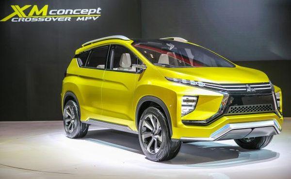 Mitsubishi XM Concept ที่เป็นตัวแทนของ Dynamic Shield คันที่2