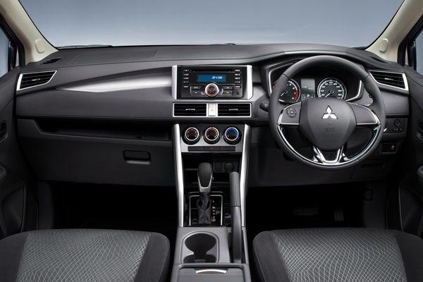 ภายในของรถยนต์ Mitsubishi บนแนวคิด Dynamic Shield จึงเป็นแบบนี้