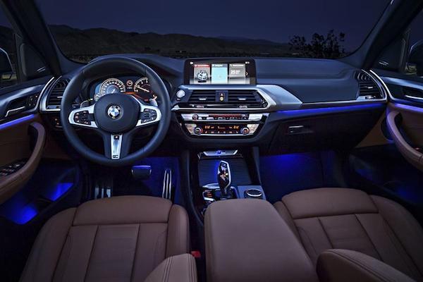 ภายในนั้นอาจจะคล้ายกับ BMW X3