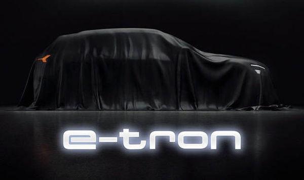 Audi e-Tron การชาร์จไฟเพียง 30 นาที สามารถวิ่งในระยะทาง 240 กม.