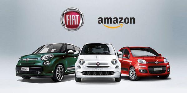 การร่วมมือกันทำมาหากินของ Amazon กับ Fiat ทำให้ Win-Win ทั้งสองฝ่าย