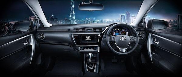 ภายใน Toyota Altis 2018