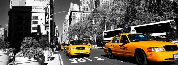 แท็กซี่ที่วิ่งในถนนเอมิกาทุกวันนี้