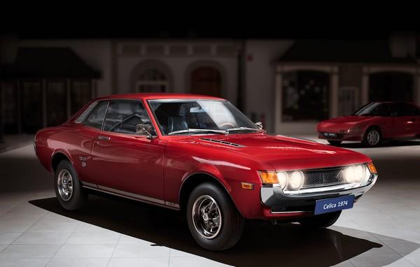 Toyota Celica  รุ่นแรกออกขายในช่วงปี 1970