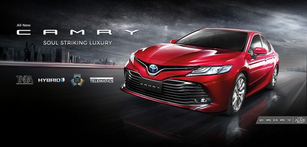 Toyota Camry เน้นลูกค้ากลุ่มรายได้สูงและต้องการความหรูหราตามสโลแกน Soul Striking Luxury
