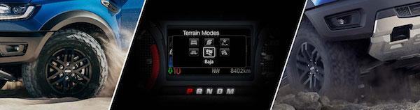 โหมดขับขี่ Terrain Management System  6 รูปแบบ