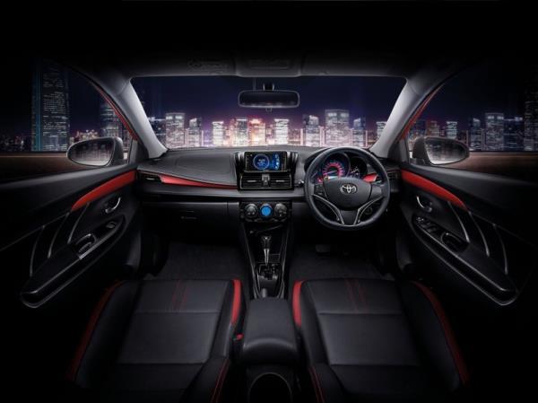 การออกแบบภายในของ Toyota Vios 2019