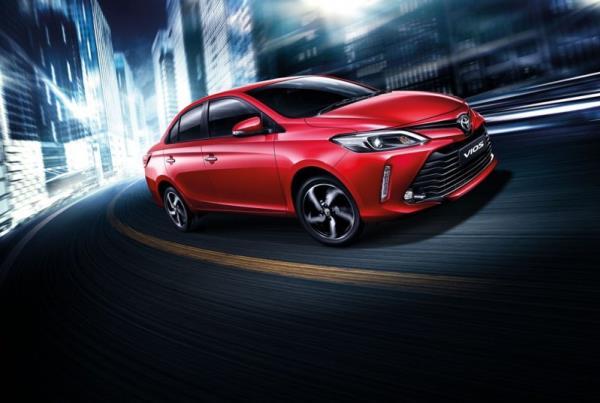 รถยนต์ Toyota Vios 2019  ออกแบบรูปลักษณ์ภายนอกใหม่ทั้งหมด
