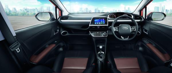 All New Toyota Sienta Inside