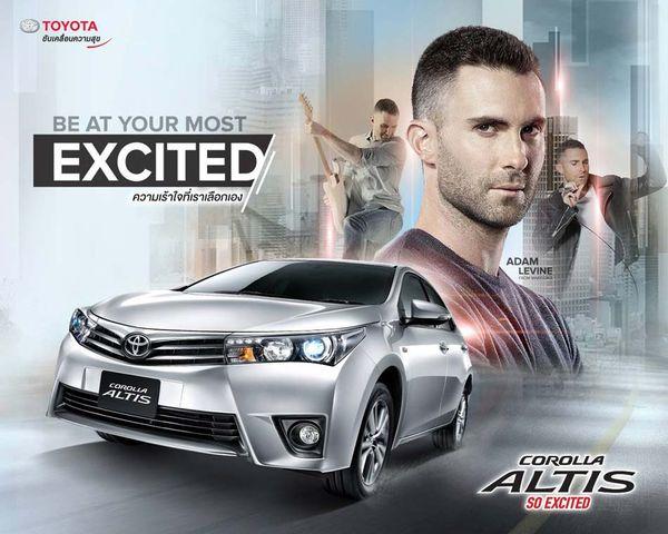 เลือก Toyota Corolla Altis มือสองโฉมปัจจุบันก็ยังทันสมัยไปอีกแบบ