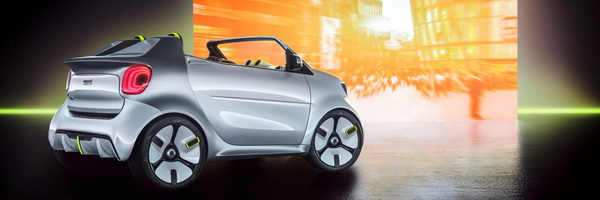 Smart Forease แบรนด์รถ Minicar จากเครือ Daimler