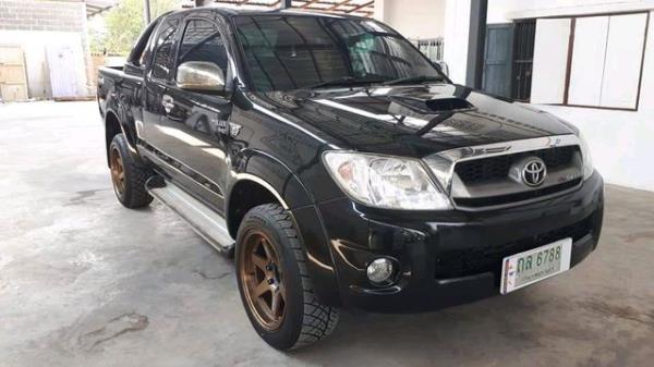 Toyota Hilux Vigo E pickup ปี 2009 ราคามือสองจะเริ่มต้นอยู่ที่ 115,000