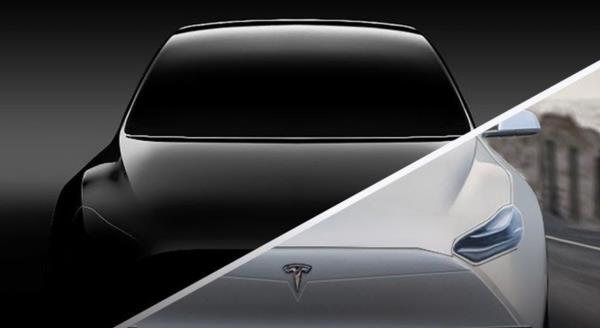ภาพ Tesla Model Y ที่ถูกปล่อยมาบนเว็บไซต์ของ TESLA