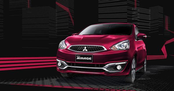 ภายนอกรถยนต์ Mitsubishi Mirage ที่ออกแบบมาแบบครบครัน
