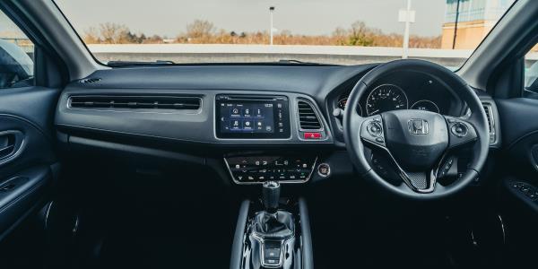Honda HR-V Console