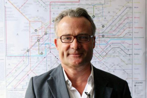 นายริชาร์ด วัตสัน วิทยา ผู้ก่อตั้งเว็บไซต์ NowAndNext.com และเป็นผู้เขียนเรื่องดิจิทัลกับมนุษย์
