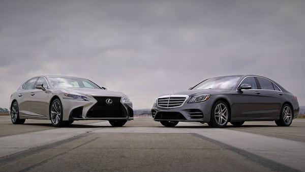 Lexus Vs Mercedes Benz รถหรูจากตลาดรถยุโรป