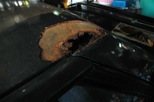 รถที่มีอาการผุไม่ควรซื้อ