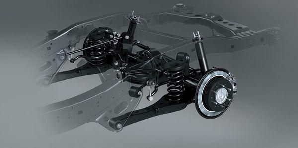 ระบบช่วงล่างของ Toyota Hilux Vigo ควรเช็คสภาพให้เรียบร้อยโดยช่างผู้เชี่ยวชาญ