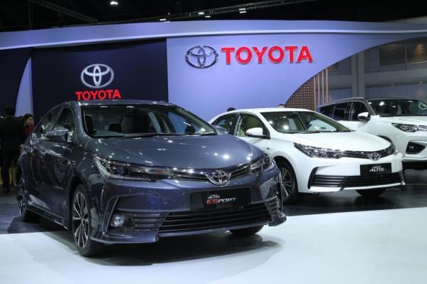 Toyota ครองแชมป์ยอดขายรถยนต์รวม ช่วงเดือนกุมภาพันธ์ 2562