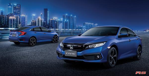 รูปลักษณ์ภายในและภายนอกของ Honda Civic