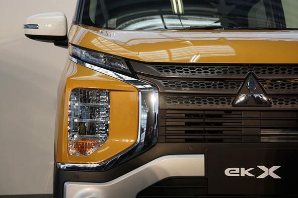 Mitsubishi eK X โฉมใหม่ที่มีรูปลักษณ์ดุดัน