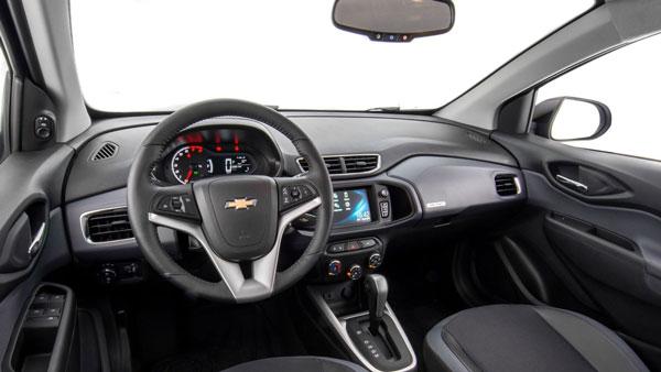ภายใน Chevrolet Onix 2019 ที่มาพร้อมกับความสะดวกสบายและพื้นที่กว้างขวาง