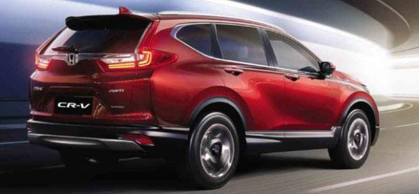 สายประหยัดและรักษ์โลกรถยนต์ครอสโอเวอร์สไตล์สปอร์ตอย่าง Honda CR-V คันนี้ตอบโจทย์ที่สุดค่ะ