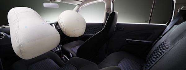 ถุงลมนิรถัย SRS บริเวณที่นั่งคนขับ