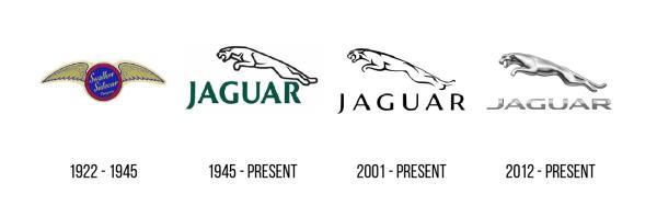 สิ่งที่บ่งบอกความเป็น Jaguar ก็คือสัญลักษณ์รูปเสือ Jaguar ที่อยู่เหนือตัวอักษรช่อแบรนด์