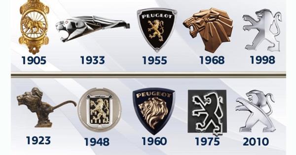 ที่มาของสัญลักษณ์นี้ คือตราประจำเมืองเบลฟอร์ต ซึ่งเป็นเมืองที่โรงงานแห่งหนึ่งของ Peugeot ตั้งอยู่
