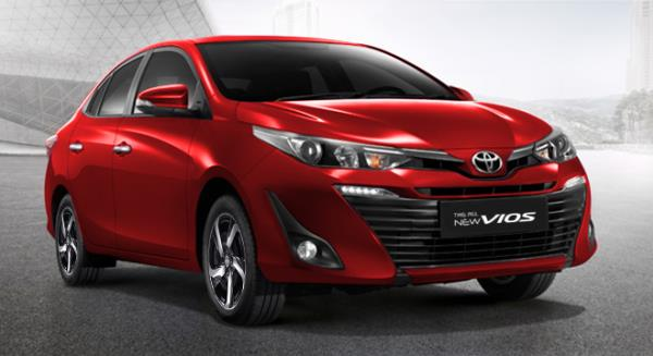 New Toyota Vios 2019 ที่เพิ่งเปิดตัวไปเมื่อปลายเดือนมกราคม