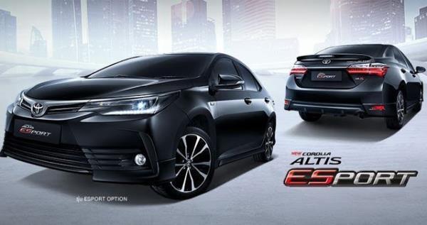Toyota Corolla Altis Esport ที่หลายคนต่างบอกว่าคุ้มแล้วที่เป็นรุ่นท็อป