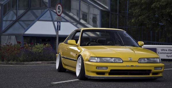 Honda Integra DA รถยนต์ที่สุดเทห์