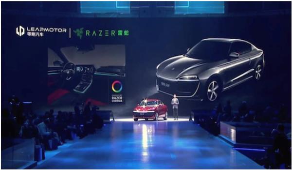 การจับมือกันระหว่าง Razer กับค่ายรถยนต์ไฟฟ้าจีน