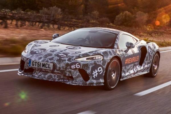 เผยภาพอำพราง New 2019 McLaren Grand Tourer! ก่อนเปิดตัวเดือนพฤษภาคมนี้