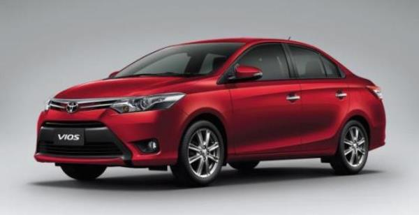 ดีไซน์ภายนอก Toyota Vios