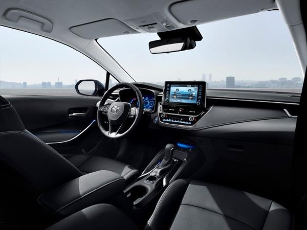ดีไซน์ภายใน Toyota Corolla Altis